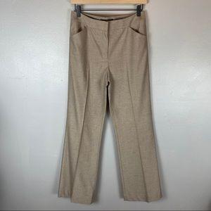Antonio Melani brown herringbone dress pants 4